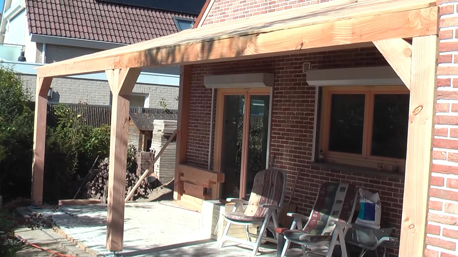 Overkapping aan huis Spaarndam